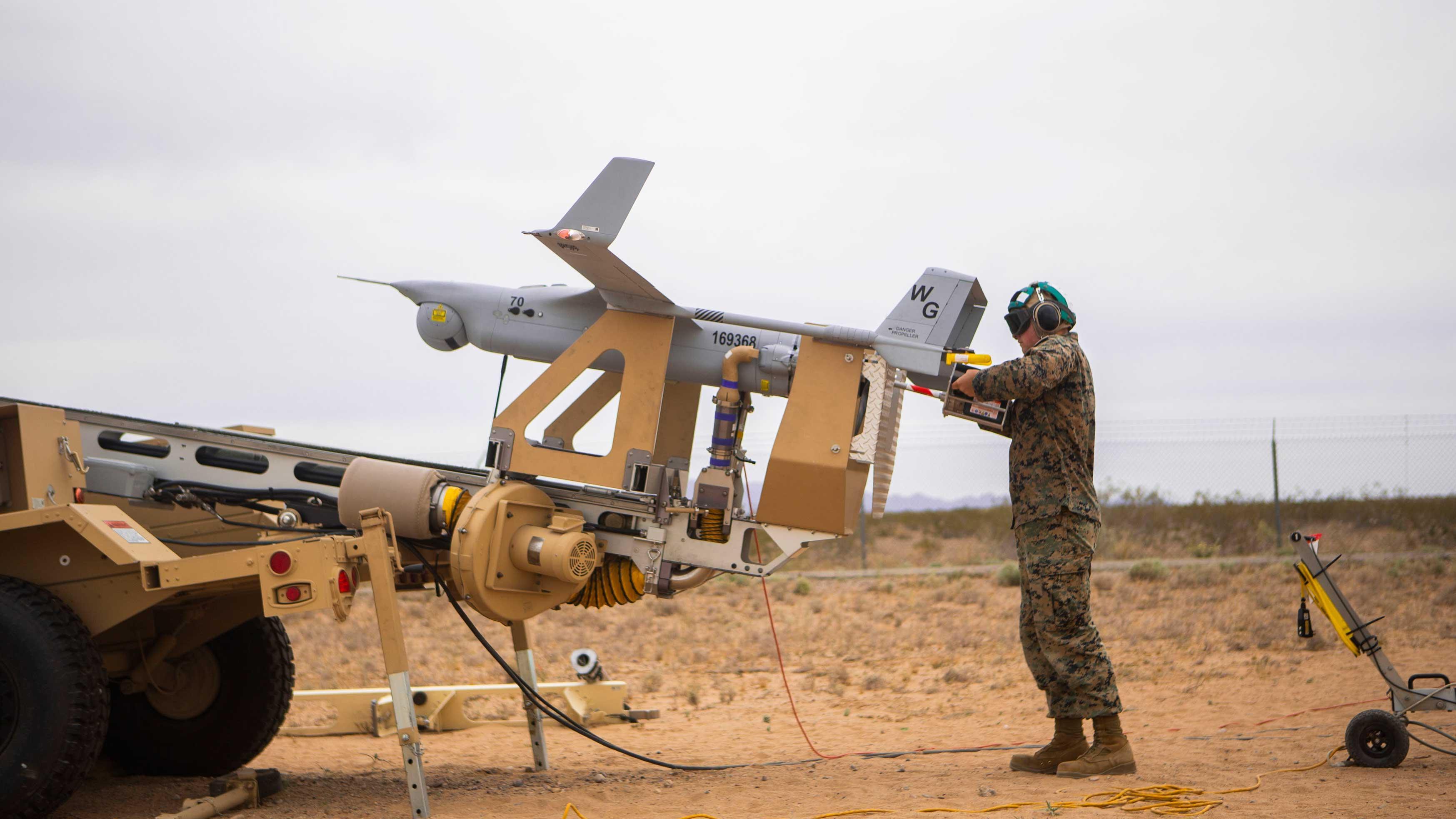 Marine Corps receives final RQ-21A Blackjack UAS   NAVAIR