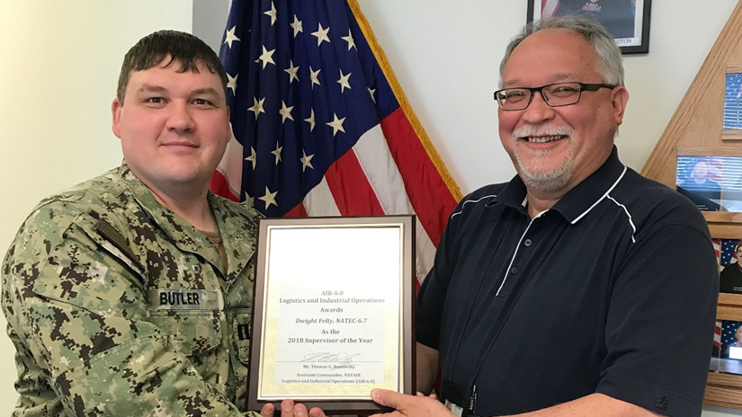 Sustainment Group Supervisor of the Year