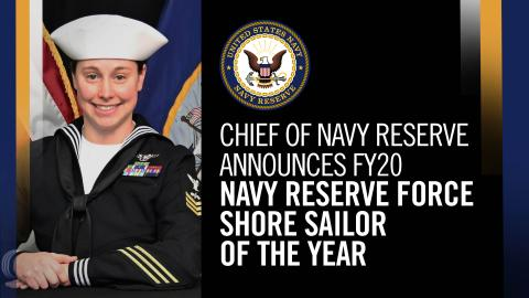 FRCE Sailor named CNRF Shore Sailor of the Year