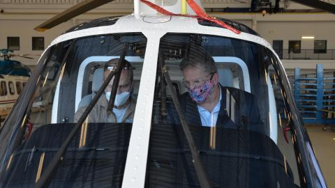ASN(RDA) Geurts visits TH-73A facility